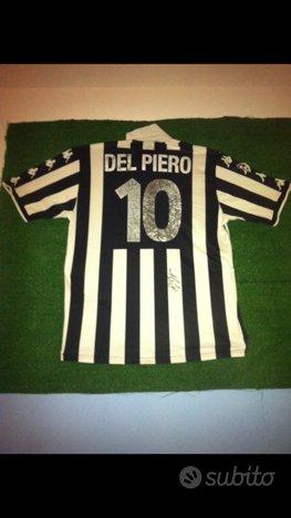 Maglia originale match worn e autografata DelPiero