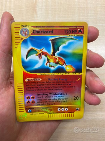 6/165 Charizard Reverse Foil Expedition Base Set