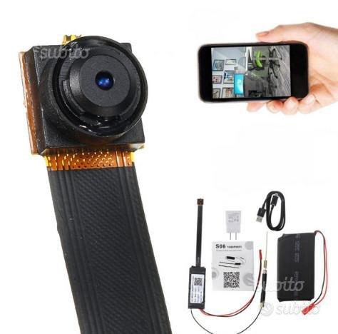 Microcamera spia wifi ip nascosta mini camera HD