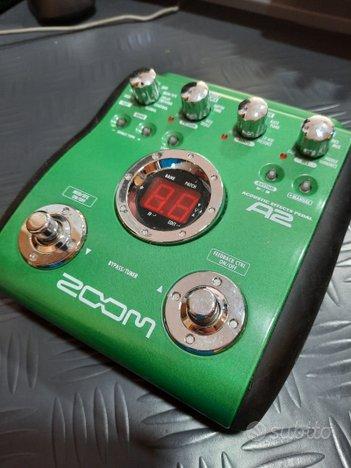 Pedaliera zoom A2 chitarra acustica