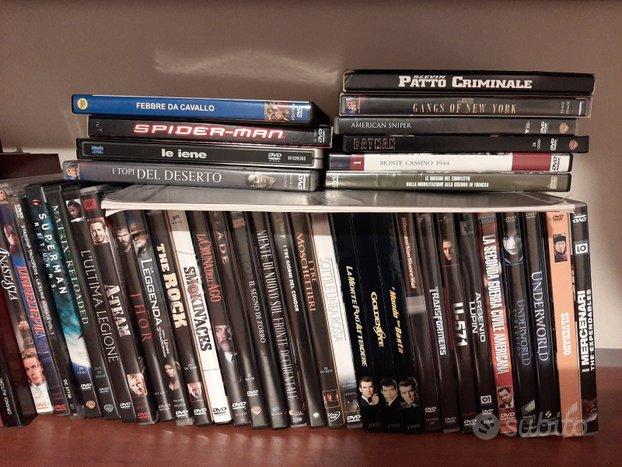 Dvd lotto 40 film fantascienza azione guerra west