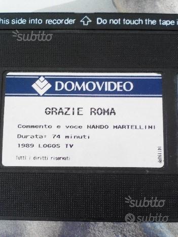 Grazie Roma VHS 1989