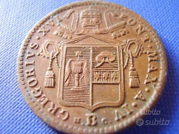 Moneta mezzo baiocco - Collezionismo In vendita a Bologna