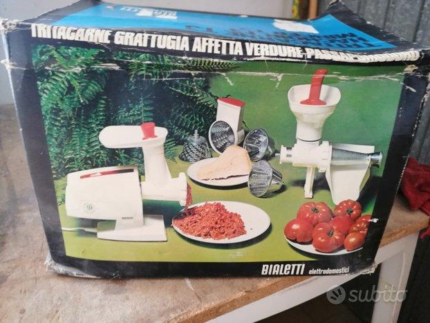 Tritacarne, grattugia formaggi, passapomodoro