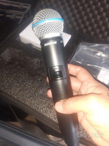 RADIO MICRIFONO SHURE BETA A GLXD-24(nuovo)