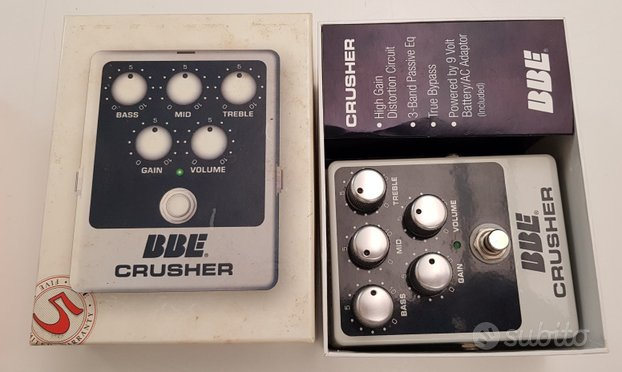BBE Crusher Pedal