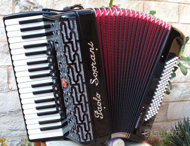 Fisarmonica Paolo Soprani 37/96 VIDEO