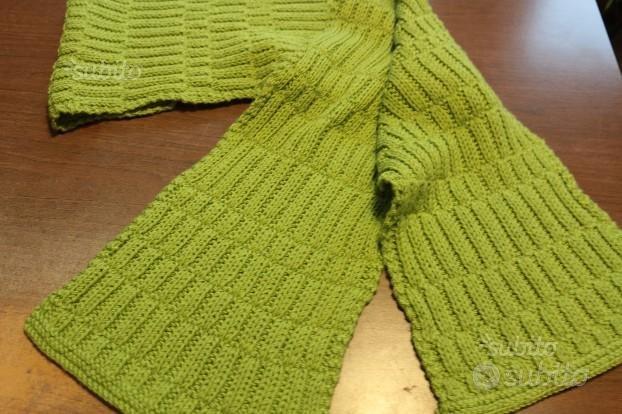 Sciarpa fatta a mano + guanti