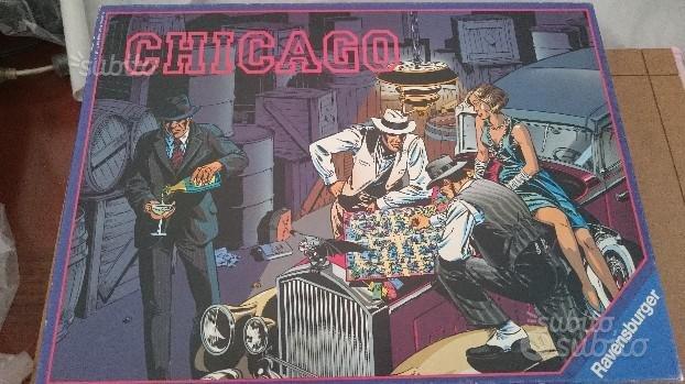 Gioco da tavolo vintage ravensburger chicago