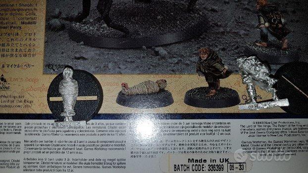 Warhammer Il Signore Degli Anelli LOTR Miniatura