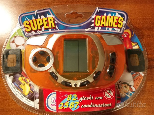Console LCD SUPER GAMES nuova, imballata
