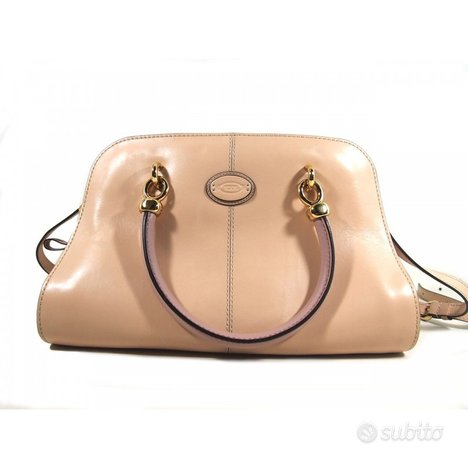 Tod's Shopping Pelle Nude