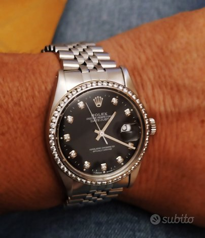 Rolex Datejust 16030 diamanti