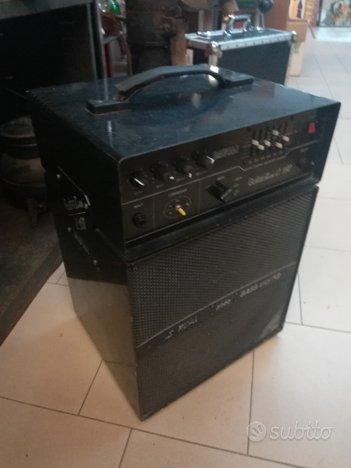 Amplificatore testata con cassa Davoli C.180