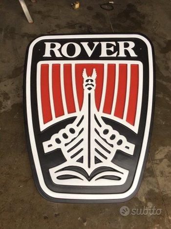 Rover insegna vintage garage officina