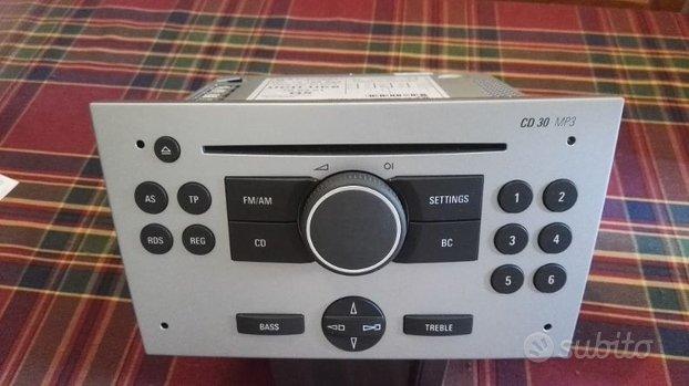 OPEL RADIO CD30MP3 x ASTRA-CORSA-MERIVA-VECTRA