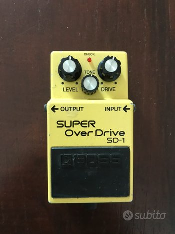 Pedale BOSS Super Overdrive