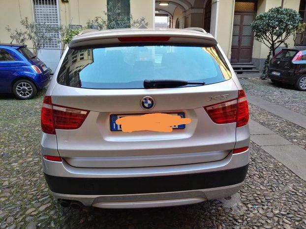 BMW X3 futura 3.0d