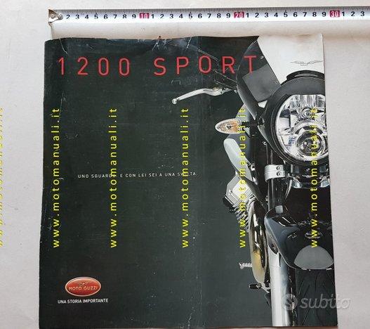 MOTO GUZZI 1200 Sport 2006 depliant originale