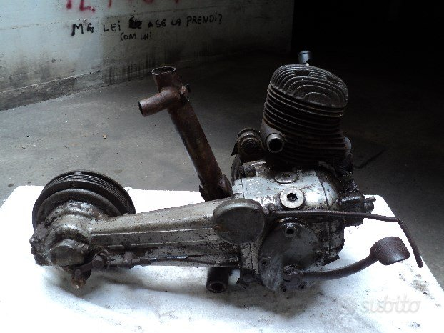 Motore lambretta e piaggio free 50cc ricambi
