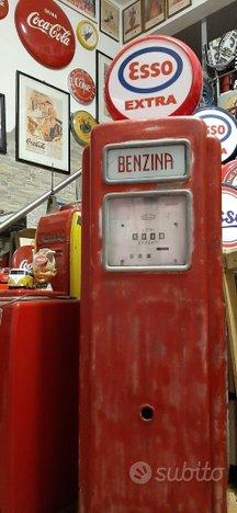 Distributore pompa Bergomi anni 60 Esso