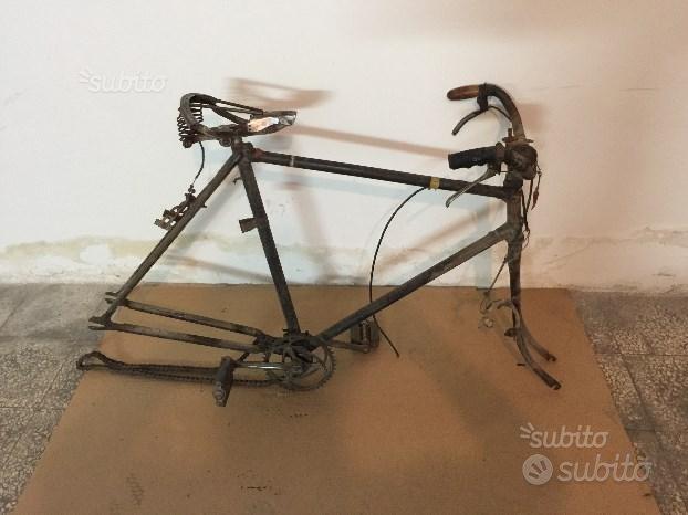 Telaio bicicletta epoca anni 60
