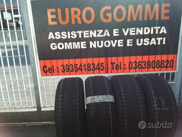 Gomme Usate Pirelli 215 55 16 93H Invernale