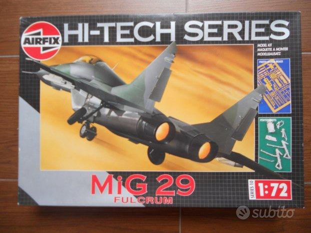 Mig 29 fulcrum airfix scala 1/72