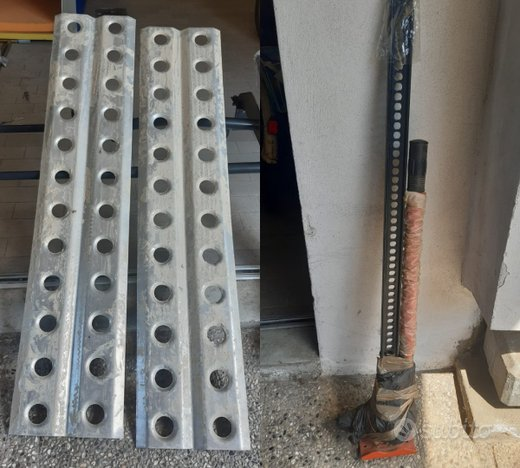 Binda completa + piastre anti sabbia 150 x 32 cm