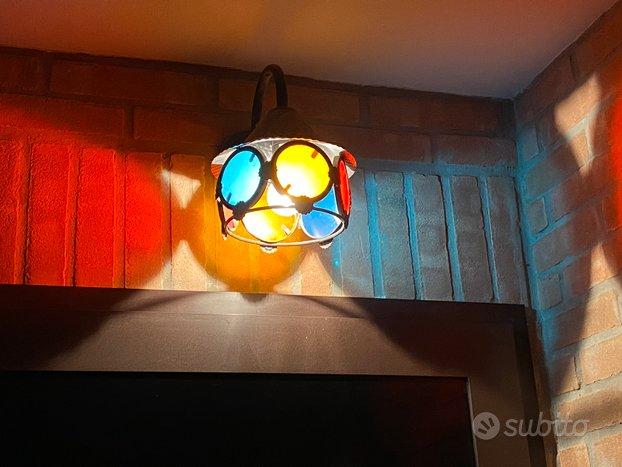 Luci esterno lampade colorate