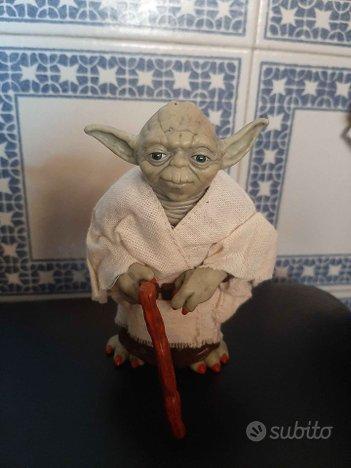 Action figure Yoda Star Wars Guerre Stellari 11cm
