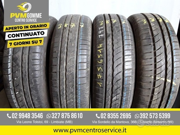 Gomme usate:175 65 14 82t pirelli