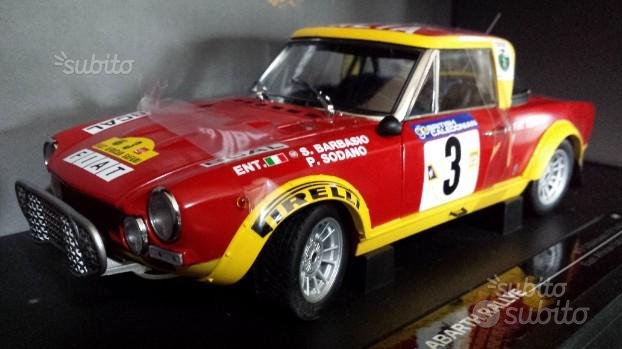 Sun Star Fiat 124 Abarth Rally Scala 1/18