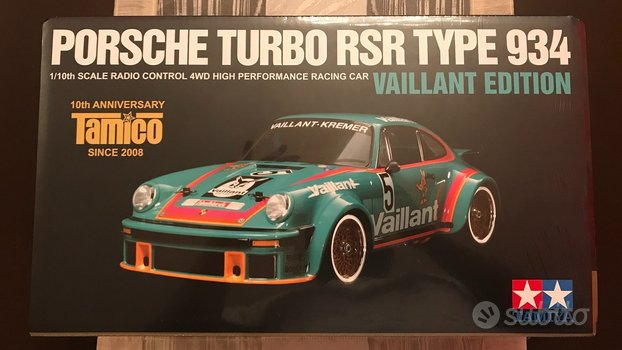 1/10 Tamiya PORSCHE 934 VAILLANT LIMITED EDITION