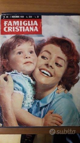 Rivista Famiglia Cristiana del 1959