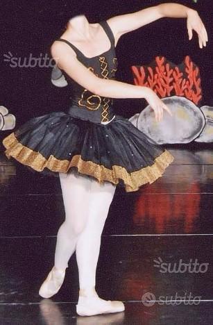 Tutù danza professionale nero