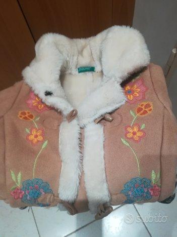 Cappotto Benetton tipo montone