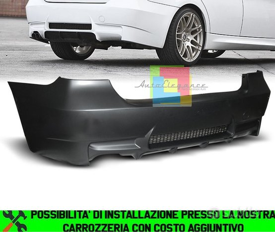 Bmw serie 3 e90 paraurti posteriore m3 look abs