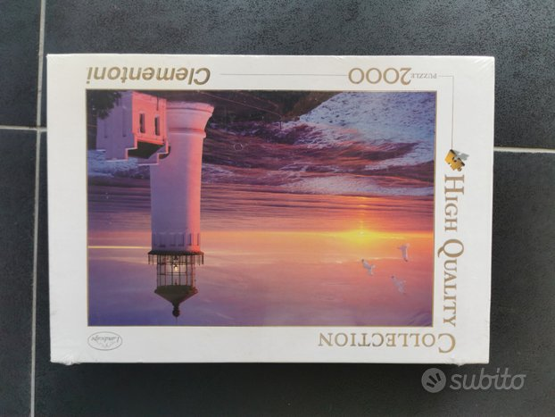 Lighthouse puzzle 2000 Clementoni