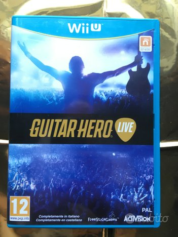 Nintendo WIIU Guitar Hero Live (senza chitarra)