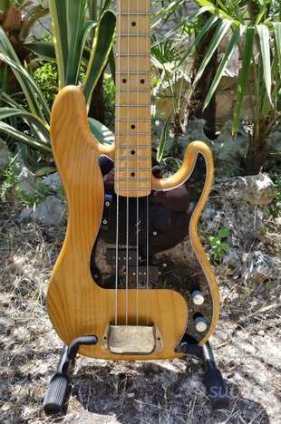 Fender precision bass 1978 natural made in usa