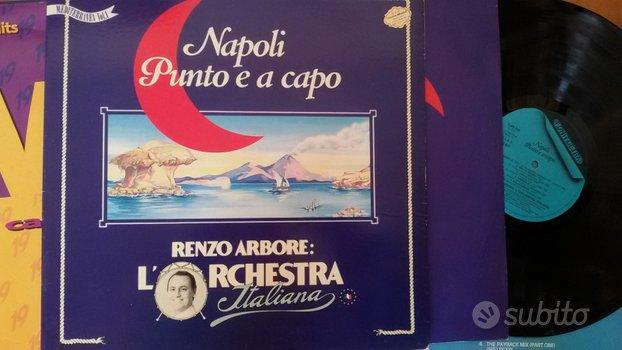 LP in vinile RENZO ARBORE -Napoli punto e a capo