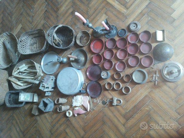 Oggetti Antichi Da Cucina Casa Utensili Bottiglie
