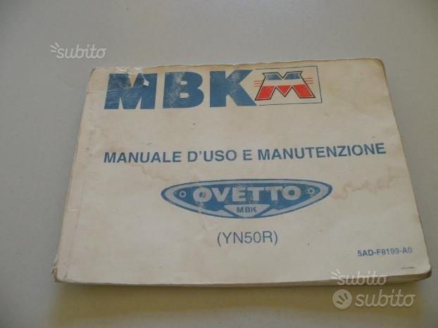 Uso e manutenzione scooter MBK