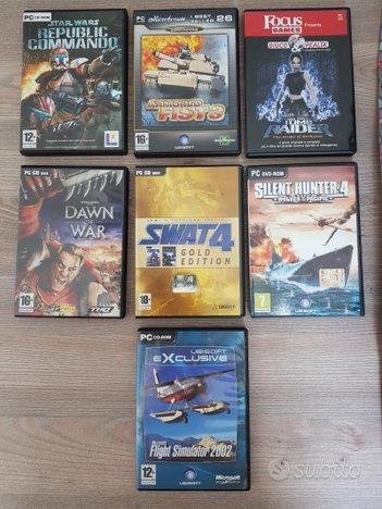 Videogiochi PC CD-ROM, lotto 8 videogames