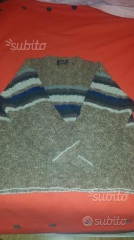 Maglione di pura lana