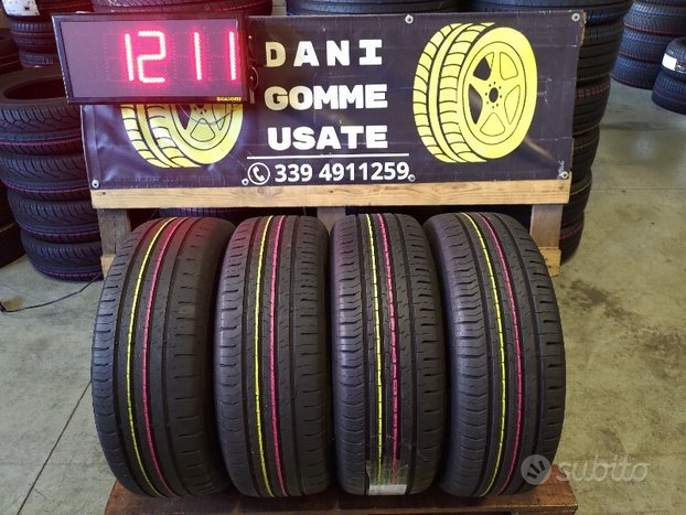 4 Gomme Usate 205 60 16 ESTIVE 80/85% CONTINENTAL