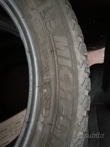 Gomme invernali 195/55 R16 87T
