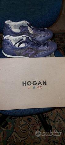 Sneakers Hogan Olympia Pelle Originali Nuove