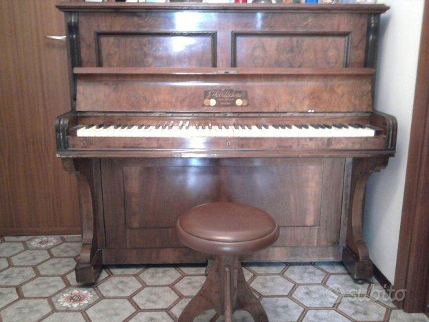 Pianoforte verticale marca Wood & Sons